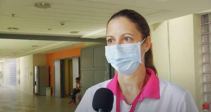 Csordás Adrienn PAMOK, ápolási igazgató