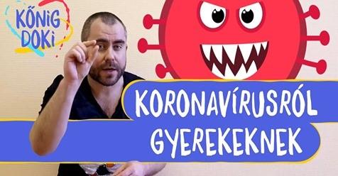 koronavírusról gyerekeknek