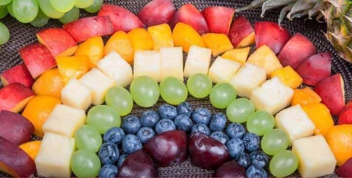 gyümölcstál