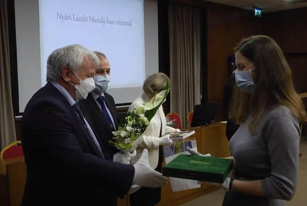 Nyári László-díjas: Csordás Adrienn, ápolási igazgató