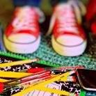 kisgyermek, cipő, képességfejlesztés
